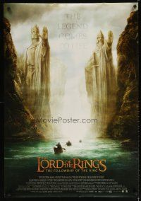 2p036 LORD OF THE RINGS: THE FELLOWSHIP OF THE RING DS Engish Thai poster '01 Tolkien, Argonath!