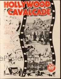 3a0037 HOLLYWOOD CAVALCADE Danish program '39 Alice Faye, Don Ameche & many top stars, different!