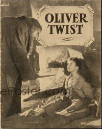 3a0062 OLIVER TWIST Danish program '51 Alec Guinness, directed by David Lean, different images!