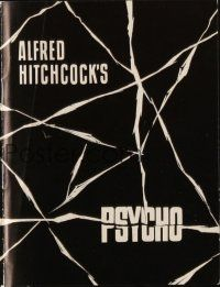 3a0070 PSYCHO Danish program '61 Janet Leigh, Anthony Perkins, Alfred Hitchcock, different!
