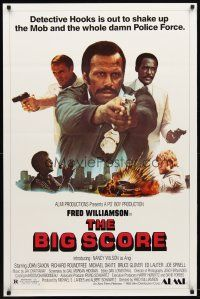 3f098 BIG SCORE 1sh '83 John Saxon, Richard Roundtree, Fred Williamson shake things up!