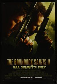 3f113 BOONDOCK SAINTS II: ALL SAINTS DAY advance DS 1sh '09 Sean Patrick Flanery, Norman Reedus!