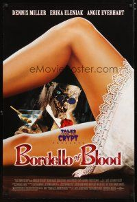 3f114 BORDELLO OF BLOOD DS 1sh '96 Tales From the Crypt, image of Crypt-Keeper w/sexy legs!