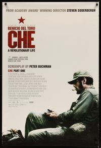 3f147 CHE DS part 1 1sh '08 Steven Soderbergh directed, Benicio Del Toro in title role!