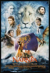 3f152 CHRONICLES OF NARNIA: THE VOYAGE OF THE DAWN TREADER style C advance DS 1sh '10 Michael Apted
