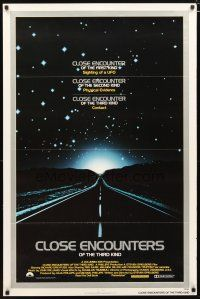 3f158 CLOSE ENCOUNTERS OF THE THIRD KIND 1sh '77 Steven Spielberg sci-fi classic!