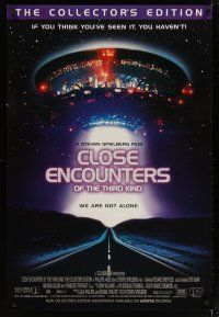 3f159 CLOSE ENCOUNTERS OF THE THIRD KIND video 1sh R98 Steven Spielberg sci-fi classic!