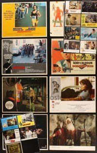 3g004 LOT OF 110 LOBBY CARDS '56 - '90 great images from a 21 different movies!