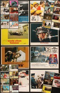 3g011 LOT OF 37 LOBBY CARDS '70s-80s great images from a variety of different movies!