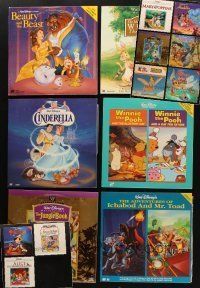 3g042 LOT OF 15 LASER DISCS OF WALT DISNEY MOVIES '80s-90s classic cartoons & live action!