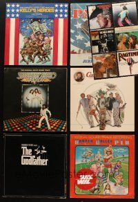 3g044 LOT OF 12 MOVIE SOUNDTRACK ALBUMS '60s-80s Saturday Night Fever, Caddyshack & more!