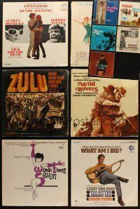 3g045 LOT OF 11 MOVIE SOUNDTRACK ALBUMS '60s-70s Two For the Road, Zulu, W.C. Fields and Me + more!