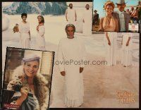 3g055 LOT OF 3 OVERSIZE STILLS '70s-80s Clash of the Titans, Prime Cut, Rich & Famous!