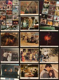 3g084 LOT OF 46 COLOR 8x10 STILLS '60s-80s great images from a variety of different movies!