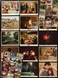 3g086 LOT OF 45 COLOR 8x10 STILLS '50s-80s great images from a variety of different movies!
