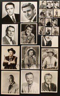 3g094 LOT OF 24 8x10 PORTRAIT STILLS OF MALE STARS '40s-60s great images of leading men & more!