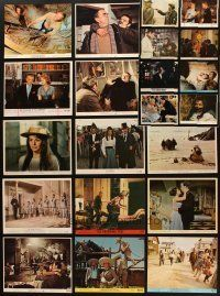 3g095 LOT OF 23 COLOR 8x10 STILLS '60s-70s great images from a variety of movies!