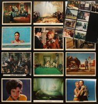 3g096 LOT OF 21 COLOR 8x10 STILLS '50s-70s great images from a vatiety of different movies!