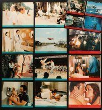 3g099 LOT OF 16 MINI LOBBY CARDS FROM THE MAN WITH THE GOLDEN GUN & THE SPY WHO LOVED ME '70s