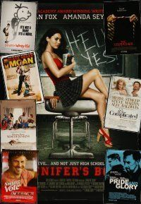 3g134 LOT OF 29 UNFOLDED DOUBLE-SIDED ONE-SHEETS '95 - '10 Jennifer's Body, Black Snake Moan