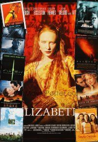 3g142 LOT OF 20 UNFOLDED DOUBLE-SIDED ONE-SHEETS '97 - '99 Elizabeth, Alien Resurrection & more!