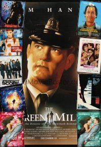 3g151 LOT OF 43 UNFOLDED MOSTLY DOUBLE-SIDED ONE-SHEETS '87 - '04 Green Mile, Funny Farm & more!