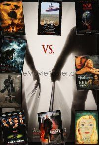 3g153 LOT OF 32 UNFOLDED MOSTLY DOUBLE-SIDED ONE-SHEETS '94 - '11 Freddy vs Jason & more!