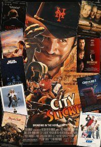 3g158 LOT OF 21 UNFOLDED MOSTLY DOUBLE-SIDED ONE-SHEETS '90 - '95 City Slickers & more!