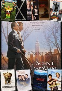 3g165 LOT OF 32 UNFOLDED DOUBLE-SIDED & SINGLE-SIDED ONE-SHEETS '85-03 Scent of a Woman & more!