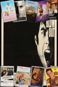 3g201 LOT OF 28 UNFOLDED ONE-SHEETS '81 - '03 Blow Out, Big Fish, Broadcast News & more!