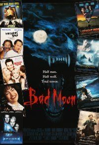 3g202 LOT OF 24 UNFOLDED ONE-SHEETS '92 - '98 Bad Moon, Joe's Apartment & many more!