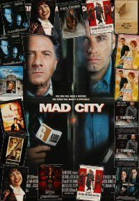 3g206 LOT OF 18 UNFOLDED ONE-SHEETS '90s Mad City, Devil's Advocate, Selena & more!