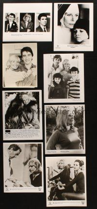 3g111 LOT OF 21 MOVIE, TV & PUBLICITY STILLS OF LORETTA SWIT '80s-90s movies scenes & more!