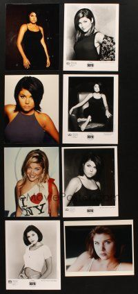 3g107 LOT OF 38 COLOR AND BLACK & WHITE MOVIE, TV & PUBLICITY STILLS OF TIFFANI THIESSEN '90s