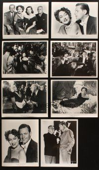 3g114 LOT OF 46 REPRO 8X10 STILLS FROM SUNSET BOULEVARD '80s Billy Wilder classic, great scenes!