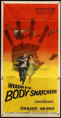 3s016 INVASION OF THE BODY SNATCHERS 3sh '56 classic horror, the ultimate in science-fiction!