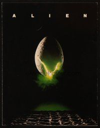 3w015 ALIEN trade ad '79 Ridley Scott outer space sci-fi monster classic, cool hatching egg image!