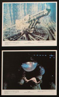 3w011 ALIEN set of 8 commercial 8x10s '79 Ridley Scott classic, cool special effects images!