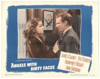 3y066 ANGELS WITH DIRTY FACES LC #3 R48 great close up of James Cagney & sexy Ann Sheridan!