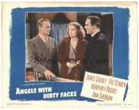 3y065 ANGELS WITH DIRTY FACES LC #4 R48 sexy Ann Sheridan between James Cagney & Pat O'Brien!