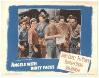 3y068 ANGELS WITH DIRTY FACES LC #5 R48 great close up of Billy Halop & the other 5 Dead End Kids!