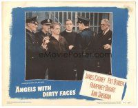 3y064 ANGELS WITH DIRTY FACES LC #6 R48 Pat O'Brien watches James Cagney being led to the chair!