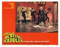 3y005 BLAZING SADDLES signed LC #7 '74 by Madeline Kahn, who's performing on stage in sexy outfit!