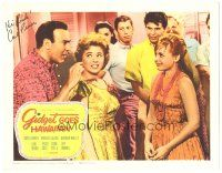 3y012 GIDGET GOES HAWAIIAN signed LC '61 by Carl Reiner, who's with Deborah Walley & Jeff Donnell!