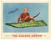3y013 GOLDEN ARROW signed LC #8 '63 by Tab Hunter, who's riding the magic carpet to save Princess!
