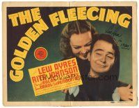 3y003 GOLDEN FLEECING signed TC '40 by Lew Ayres, screwball life insurance comedy!