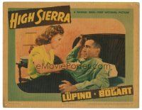 3y050 HIGH SIERRA LC '41 close up of Ida Lupino tending to Humphrey Bogart's wounds!