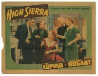 3y052 HIGH SIERRA LC '41 Joan Leslie, Henry Hull, Henry Travers, Minna Gombell w/ Humphrey Bogart!