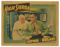 3y053 HIGH SIERRA LC '41 bearded doctor Henry Hull stares at wounded Humphrey Bogart!