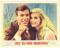 3y017 JOY IN THE MORNING signed LC #2 '65 by Richard Chamberlin, who's c/u with sexy Yvette Mimieux!